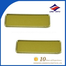 Name badge manufacturer supply metal blank name badge