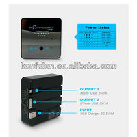 HOT!!! 13500mAh china universal handy charger manufacturer
