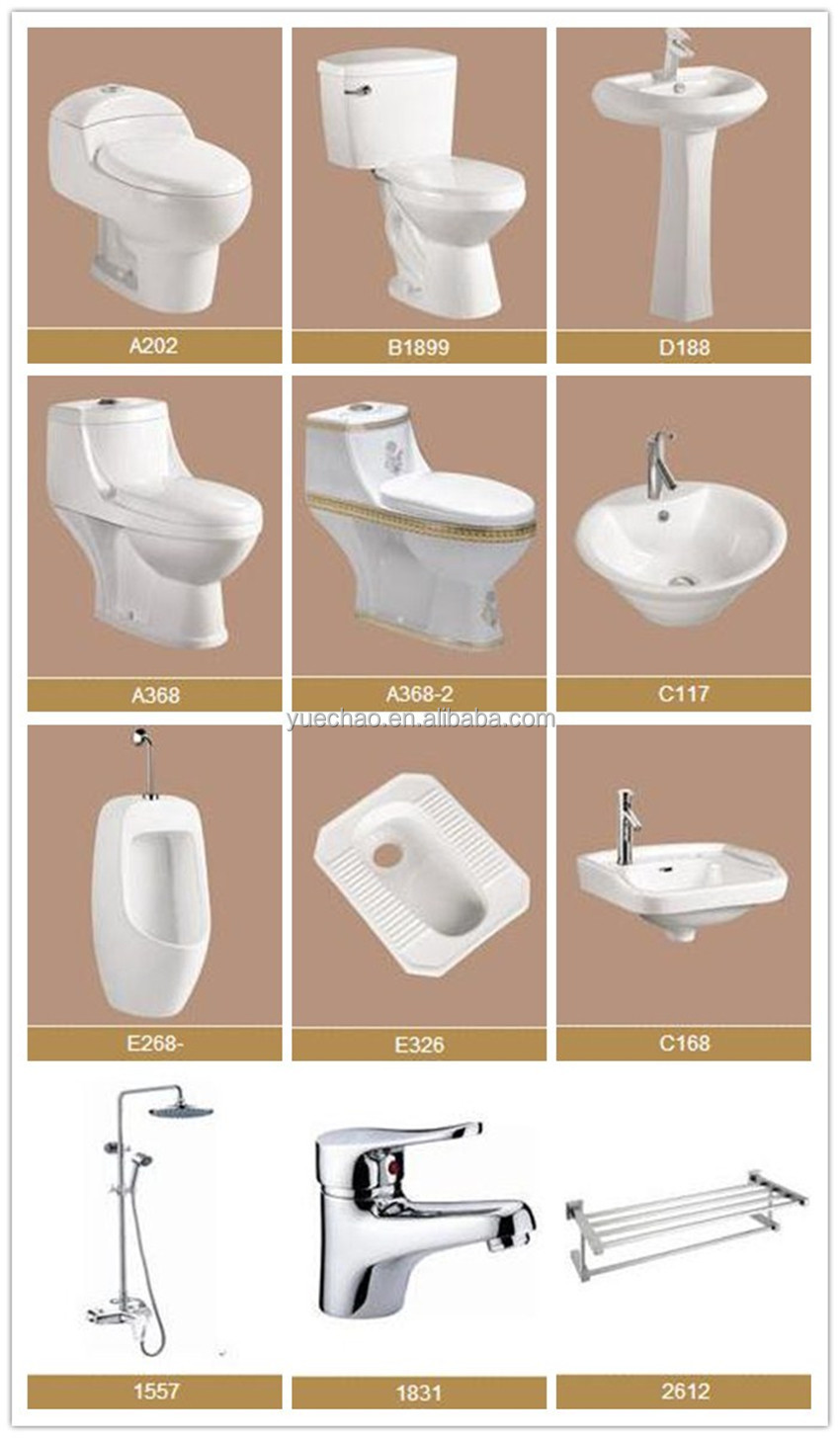 sanitary ware ceramic squatting W.C pan