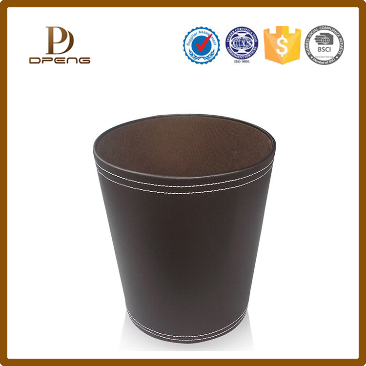 Wholesale custom design handmade indoor office dustbin
