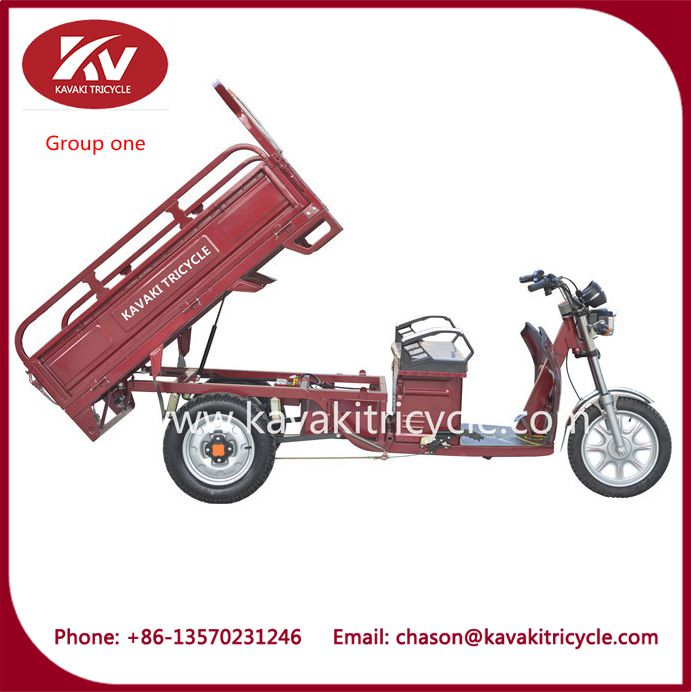 open body motor driven three wheeler manufacturer in china for adults