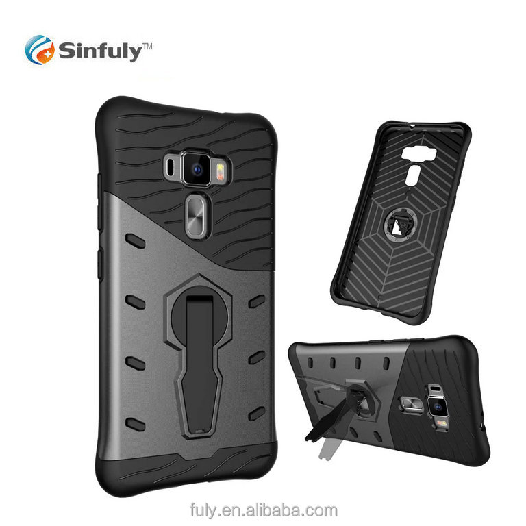 Factory ODM Design Waterproof Shockproof Stand Case Cover for Asus Zenfone 3 Back Case