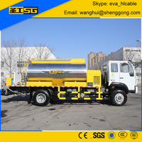 2016 New 6000L Asphlat Distributor, Asphalt Distribution Truck for sale