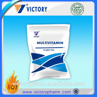 animal Multivitamin weight gain powder with Compound Lactobacillus probiotics for poultry
