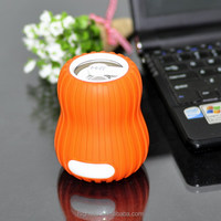 mini portable 3.5 jack mp3 speaker built-in rechargeable 600 mA/h lithium battery