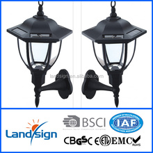 Cixi Landsign solar wall lights outdoor XLTD-249C new technology lamps solar