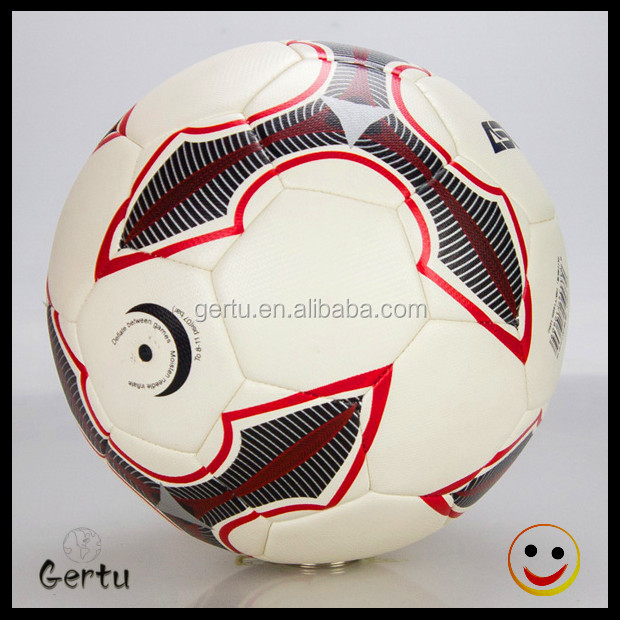 PU leather material brand custom logo Promotional soccer ball