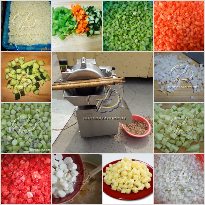 Latest model commercial onion fruit cutting machine