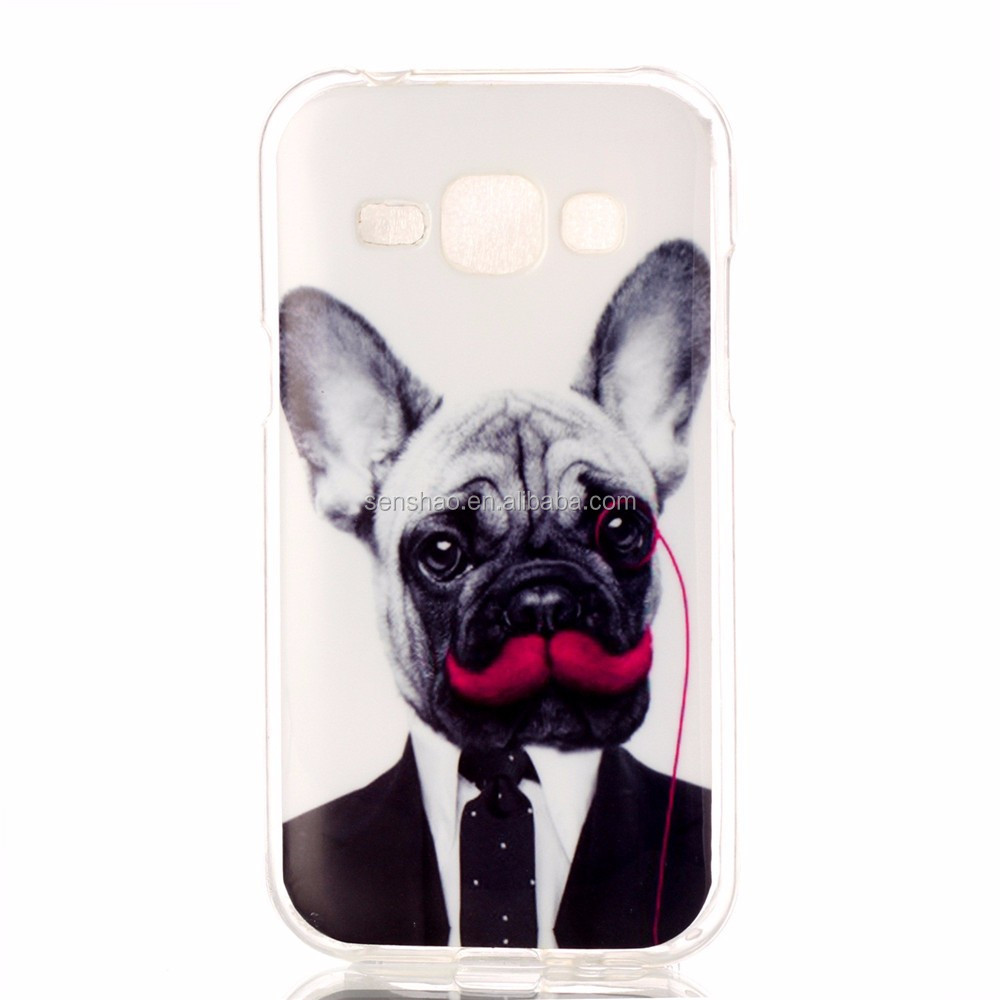wholesale new fashion soft TPU funny phone cover For Samsung Galaxy j1 Case Cute Carton Print Design Soft Mobile Phone Case