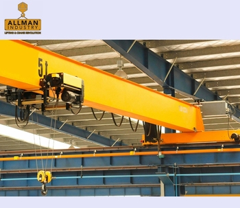 ALLMAN customerized single girder overhead crane 5 ton with cheapest price for sale