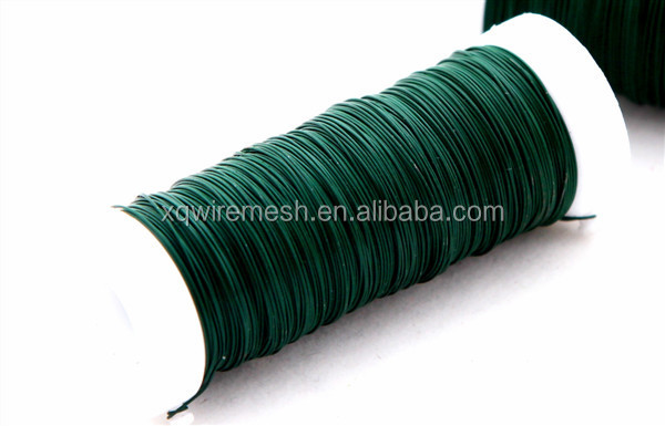XQ HOT sales Garden metal wire/colored garden wire/pvc coated wire