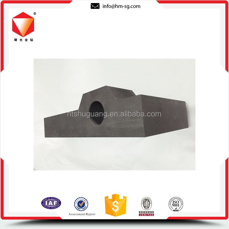 Customized oem odm carbon graphite block for mould