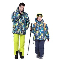 Wholesale New style Phibee sport waterproof windproof quick dry winter parent-child clothing