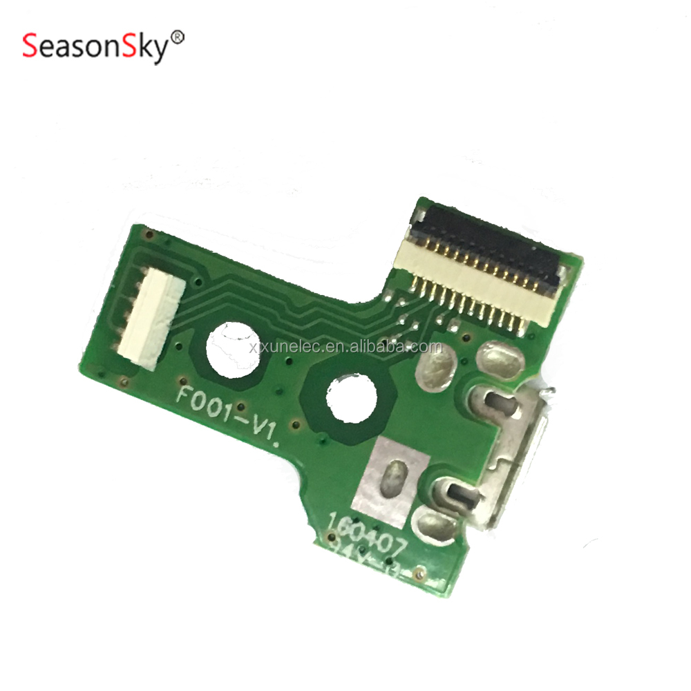 USB Connector Charging Port Socket Power Circuit Board JDS-030 12pin for PS4