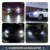 36W H11 LED car headlight LED conversion kit 4400 lms 6500K super white H11 LED car headlamp bulb