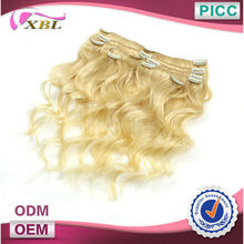 Top Quality Indian Human Hair Clip On Extensions Hair