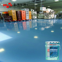 Excellent anti-pressure epoxy industrial floor paint
