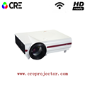 CRE X1500 HD High Brightness Video LED Portable Projector For XBOX PS4 Video Games TV Movie