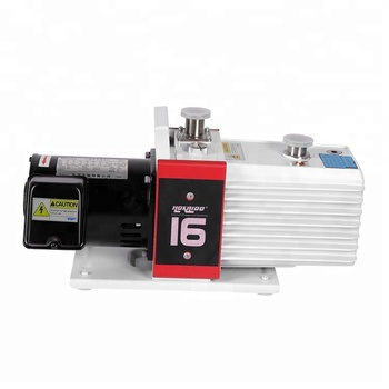0.0007 mbar Ultimate partial pressure without gas ballast Double Stage Rotary Vane Vacuum Pump