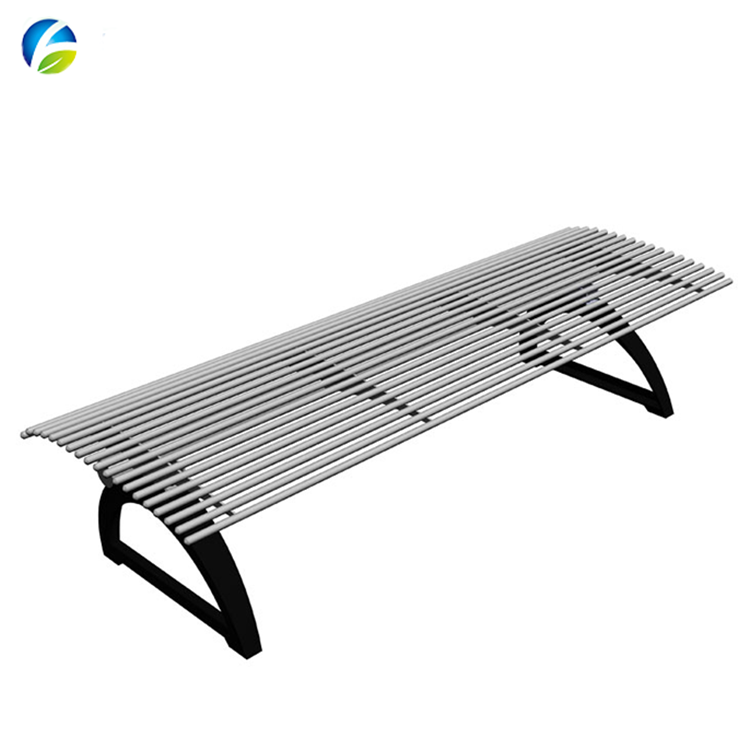 Chinese Suppliers Modern Backless Metal Outdoor Stainless Steel Park  Benches - Buy Park Benches,Outdoor Bench,Stainless Steel Park Benches  Product on ...