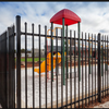 Good quality colors house garden designs Wrought iron fence and steel fence