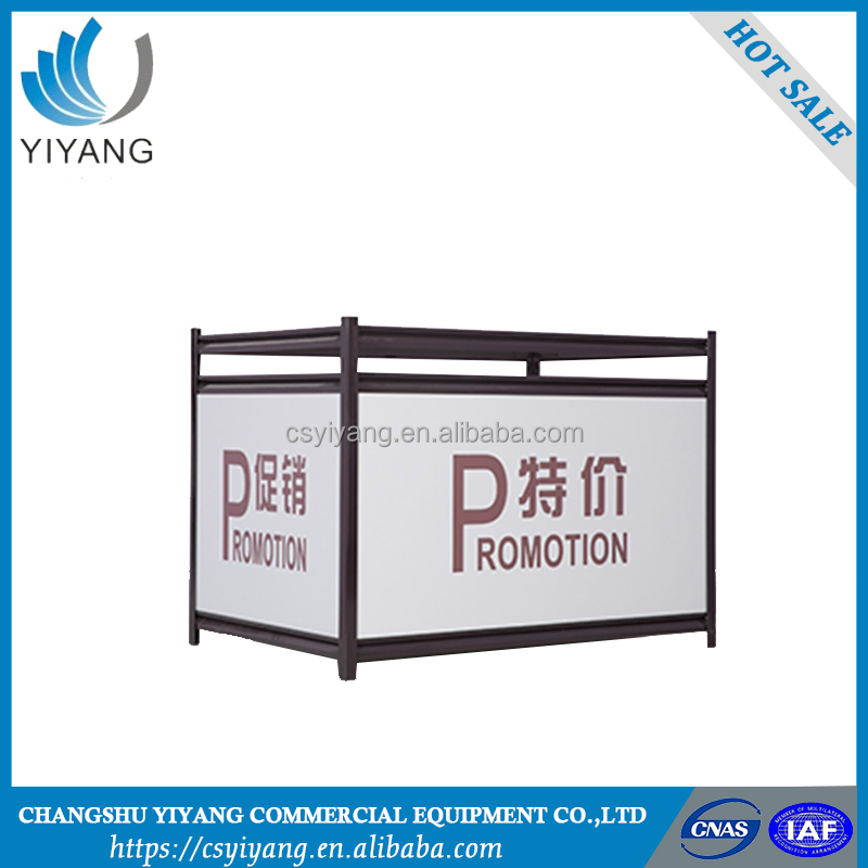 top quality portable promotional counter displays
