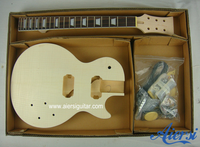 solid body diy lp electrical guitar kits