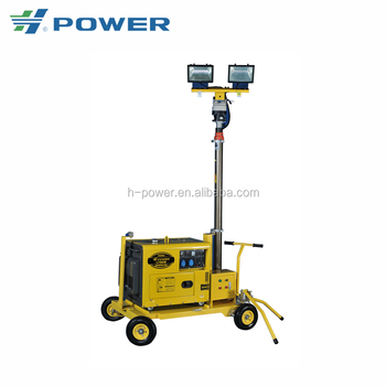 diesel generator light tower with a wide selection of designs DLT-6500-4