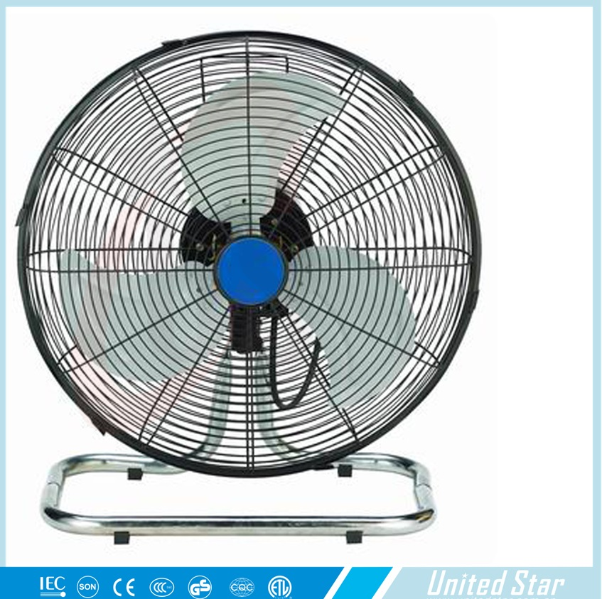 Powerful Floor Fans : Quot speed control metal classic powerful