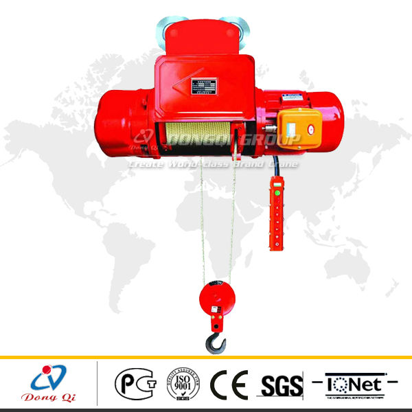 CD1 type best quality hoist install telpher electric