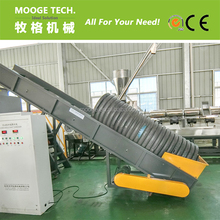 Hot Sale Single shaft Plastic pipe shredder machine
