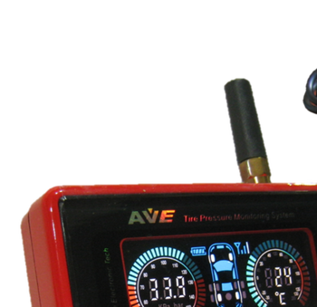 AVE Tyre Pressure Monitoring System Total Solution: Color LCD TRUCK/BUS/CVs/Car TPMS Pressure gauge for 1~27 tires