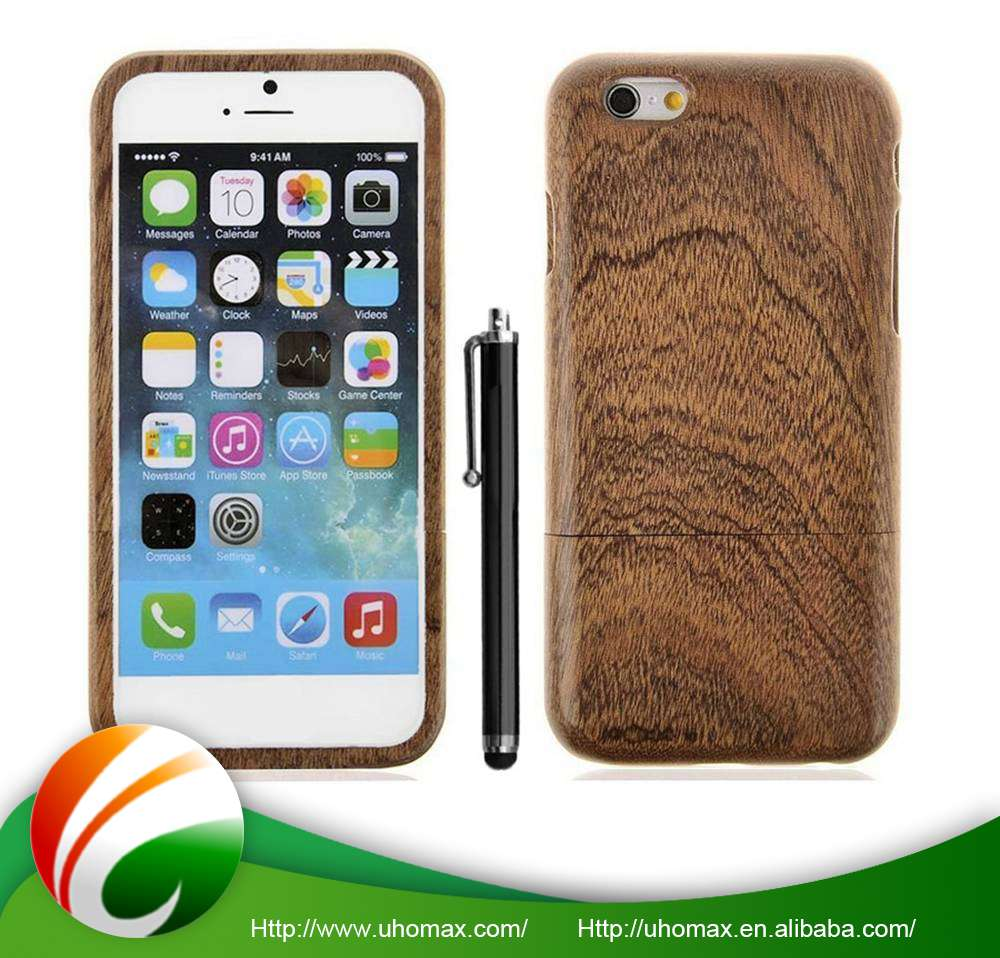 Luxury Quality Custom Fit Wooden Phone Case For Iphone 6