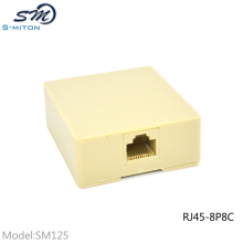 Competitive Price Single Port Telephone Terminal Box 8P8C RJ45 Junction Box