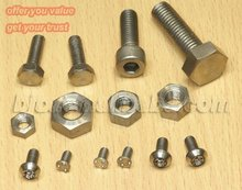 Titanium motorcycle fasteners,screws,bolts and nuts