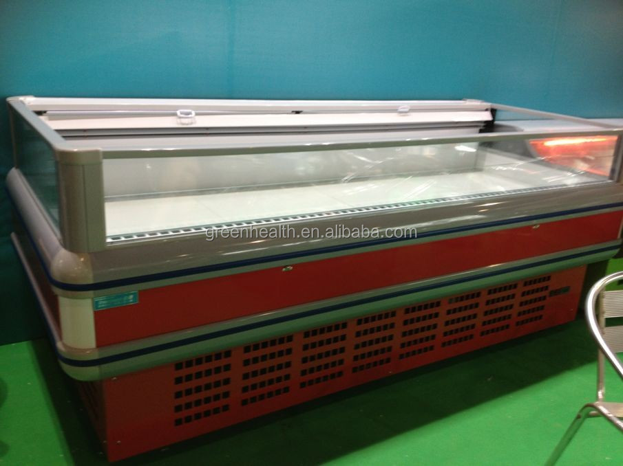 2.5m fresh seafood mobile refrigeration equipment