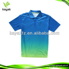 2013 hot sale high quality print polo t shirts for men for outdoor