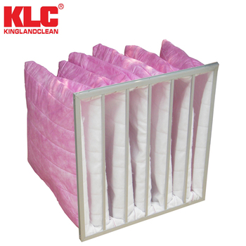 2017 HVAC large Air Flow Medium Air Bag Filter, Pocket Filter