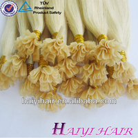 2016 Factory Price Wholesale brazilian remy human U tip/Flat tip/I tip hair extension