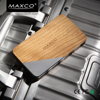 MAXCO portable two sides USB power bank with 8000mah polymer battery pack