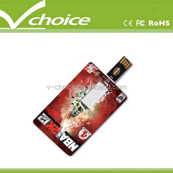 new style credit card usb flash driver
