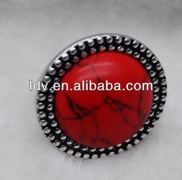 yiwu products plastic red resin ring