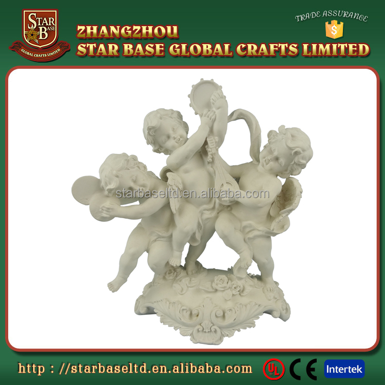 Cheap price custom resin cupid angel statue for sale