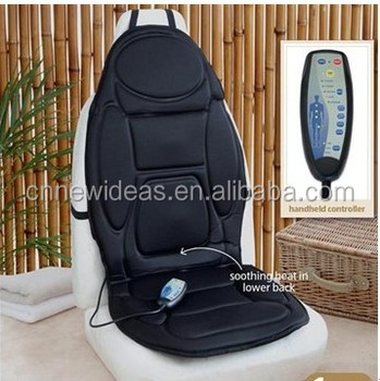 Vibration massage with seat warmer, back and seat massager