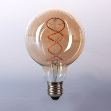 newest g80 4W 2200k led edison spiral flex filament bulb china