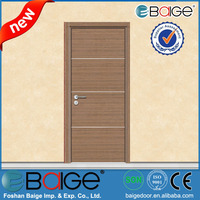 BG-PU9109 Cheap Partition Wood Fairy Door / Balcony Wooden Door
