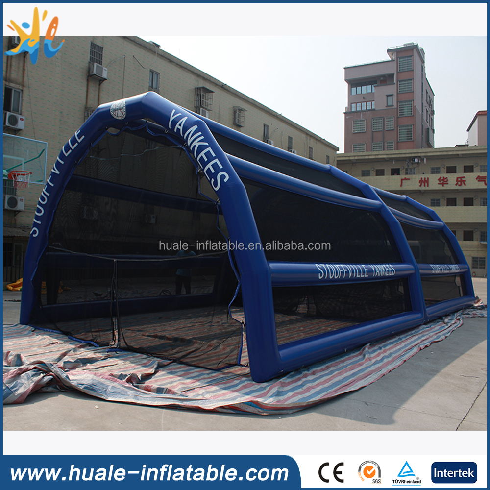 Good price inflatable baseball batting cage, inflatable sport games