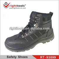 RIGHTTOOLS RT-93099 Genuine Leather High ankle safety shoes