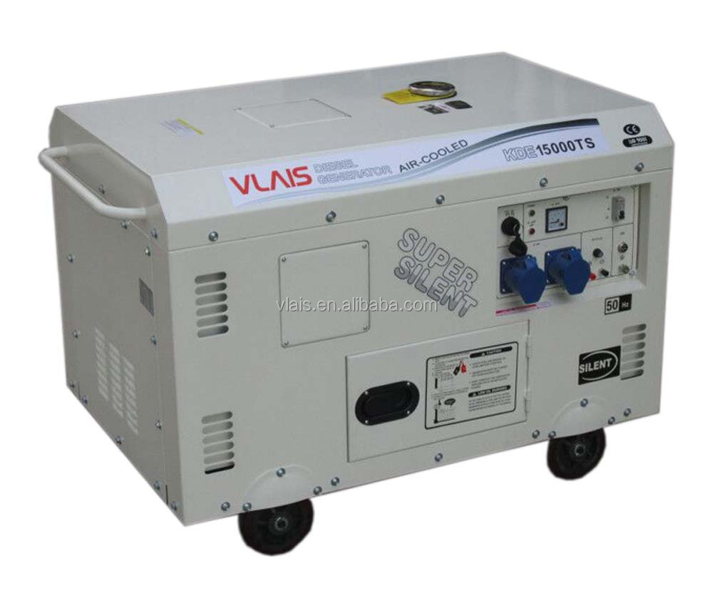 Silent Type Low Fuel Consumption Long TIme Operate 15KVA Diesel Generator