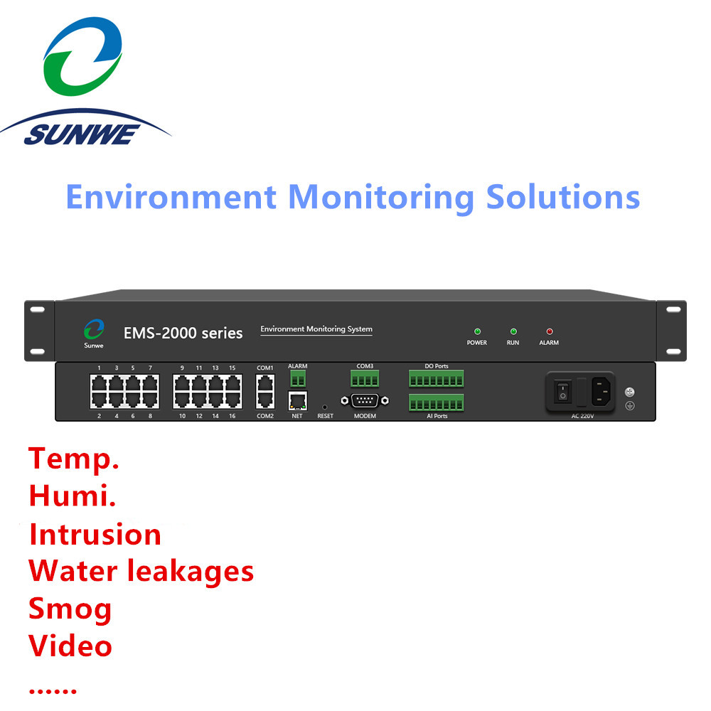 All in one Environmental monitoring Host for Data centers CCTV